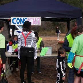 Lupe del Río voluntaria en la Cursa Solidaria de Zombis en la Sentiu