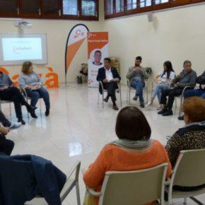 Ciutadans Gavà celebra l'acte final de campanya